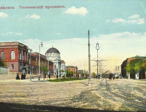 Проспект Руставели (Головинский проспект)