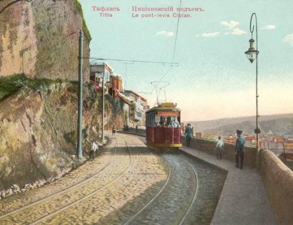 Подъем Бараташвили (Цициановский подъем)