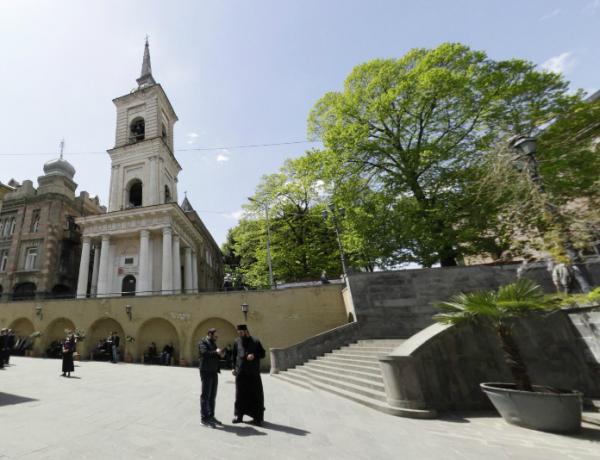 Колокольни Сионского собора